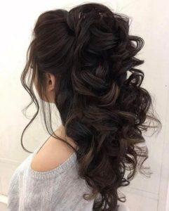 c424fe54a26 132 ιδέες για Νυφικά Χτενίσματα για όλους τους τύπους μαλλιών ...